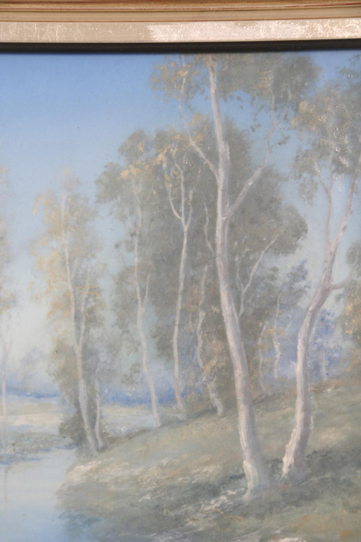 Rookwood Pottery Vellum Landscape Plaque