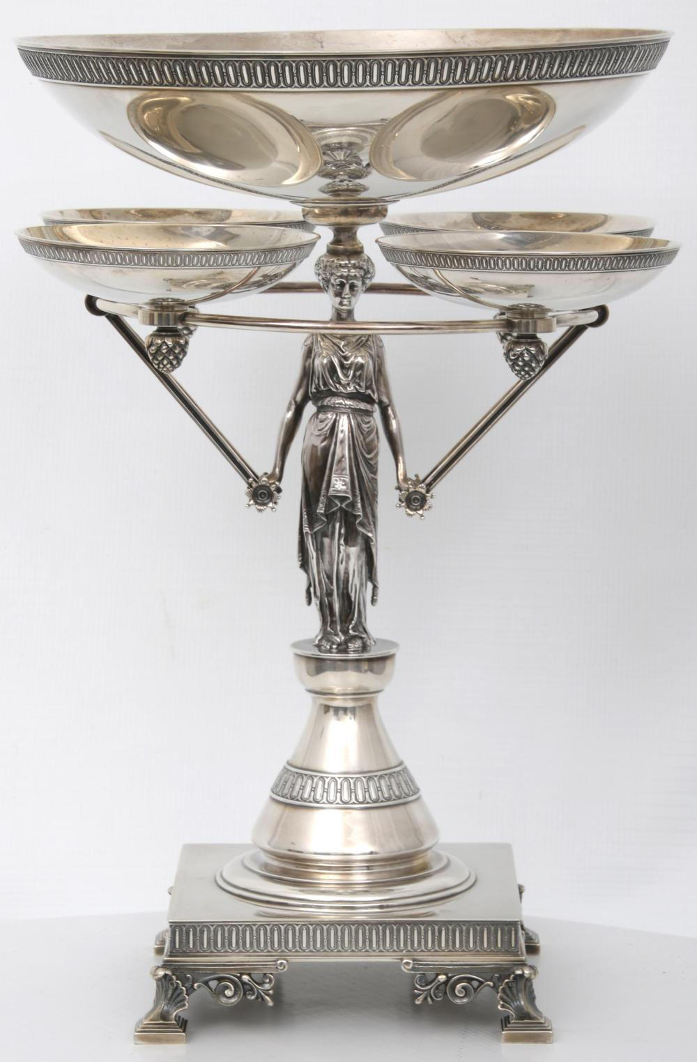 Tiffany & Co. Sterling Silver Figural Centerpiece