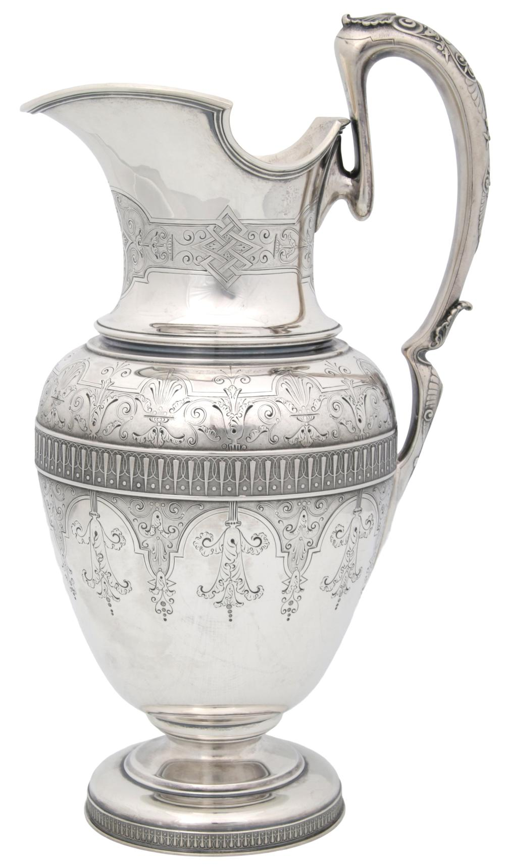 Tiffany & Co. Sterling Silver Water Pitcher