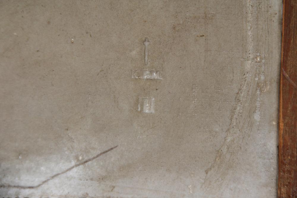 KPM Porcelain Plaque of Hagar & Ishmael