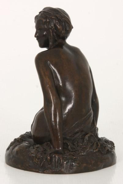 Edith W. Burroughs Bronze Sculpture - Leda