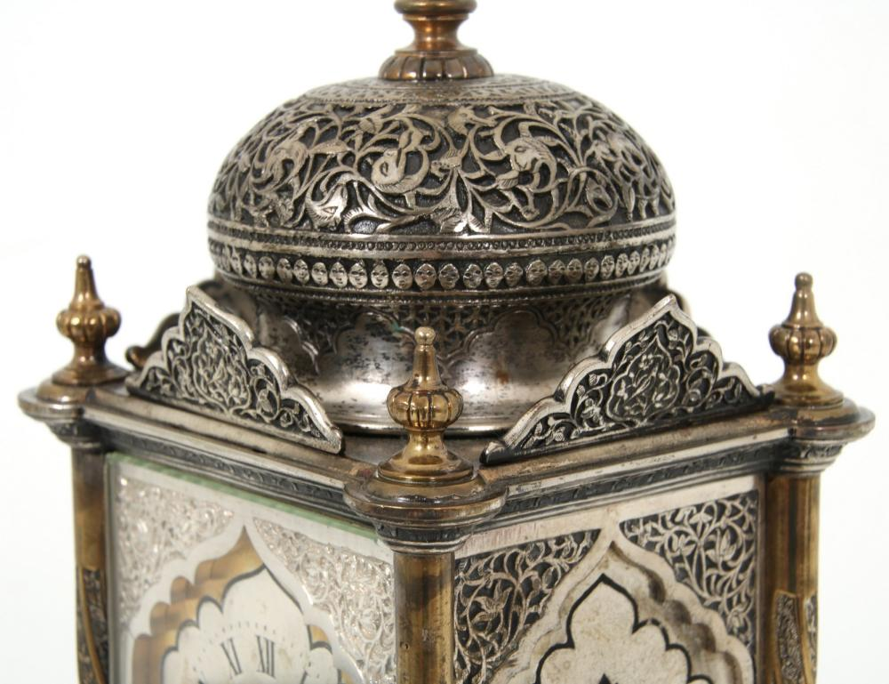 Tiffany & Co. Arabic Mosque Carriage Clock