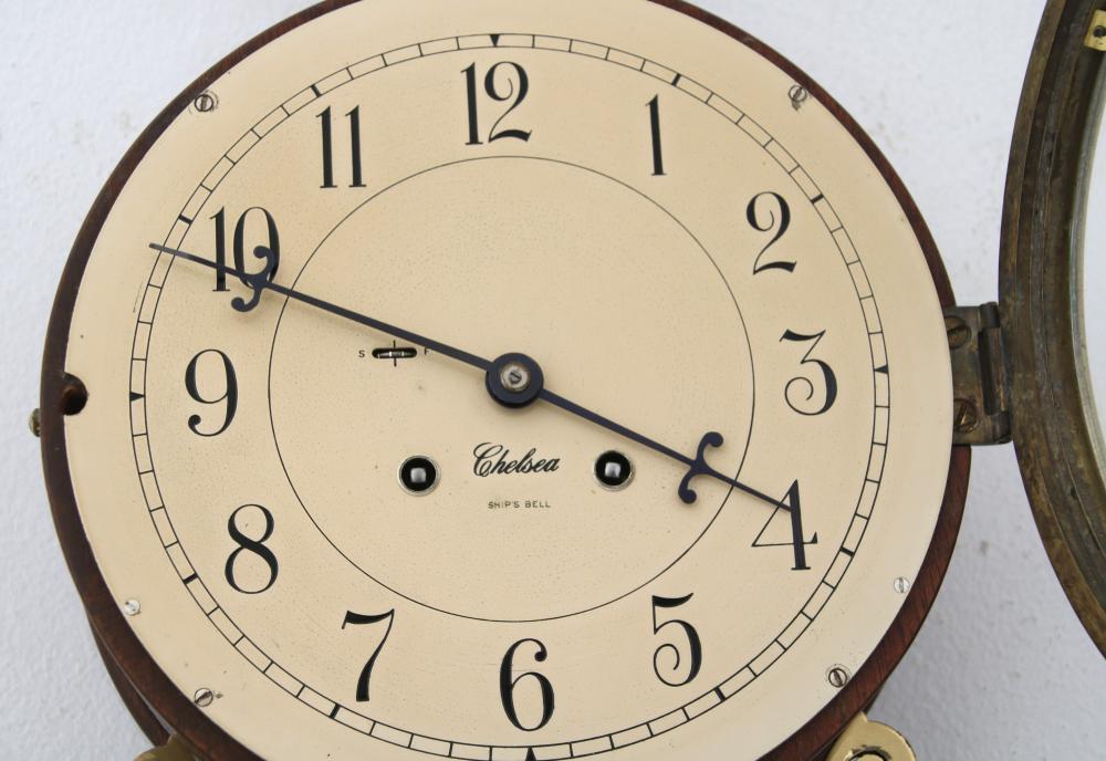 Chelsea Ship's Bell Banjo Clock