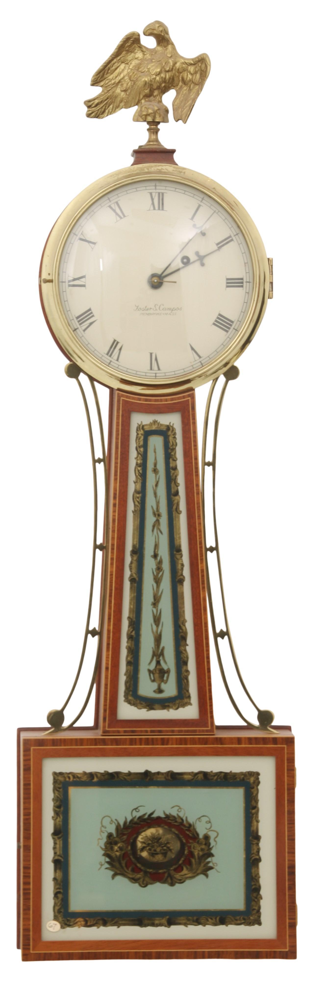Foster Campos Banjo Clock