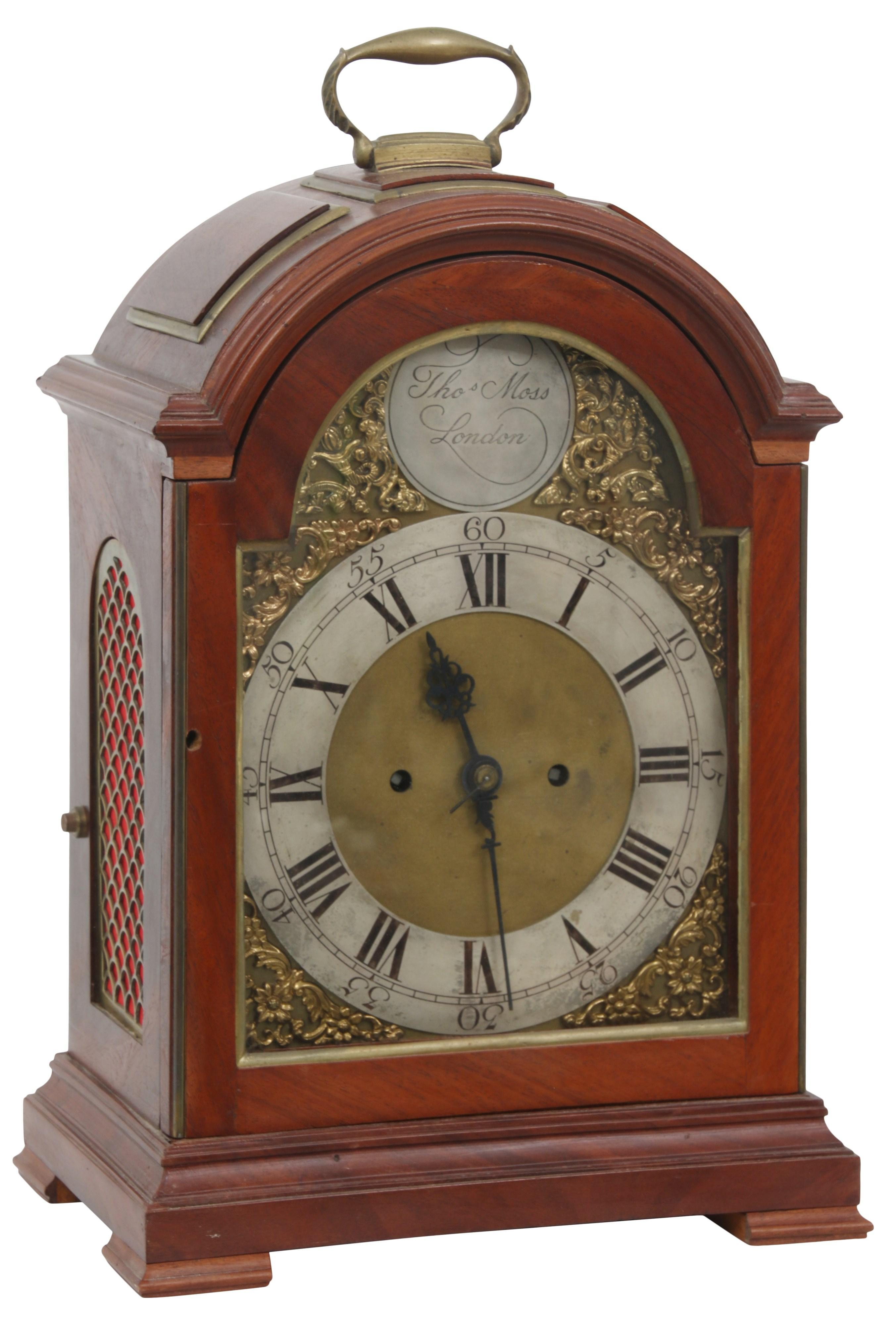 Thomas Moss Fusee Bracket Clock