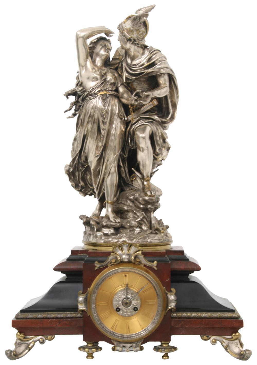 Jean-Louis Gregoire French Mantel Clock