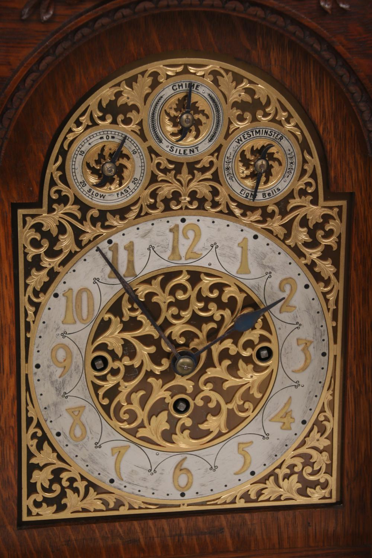 """Elite"" Triple Fusee 9-Tube Bracket Clock"