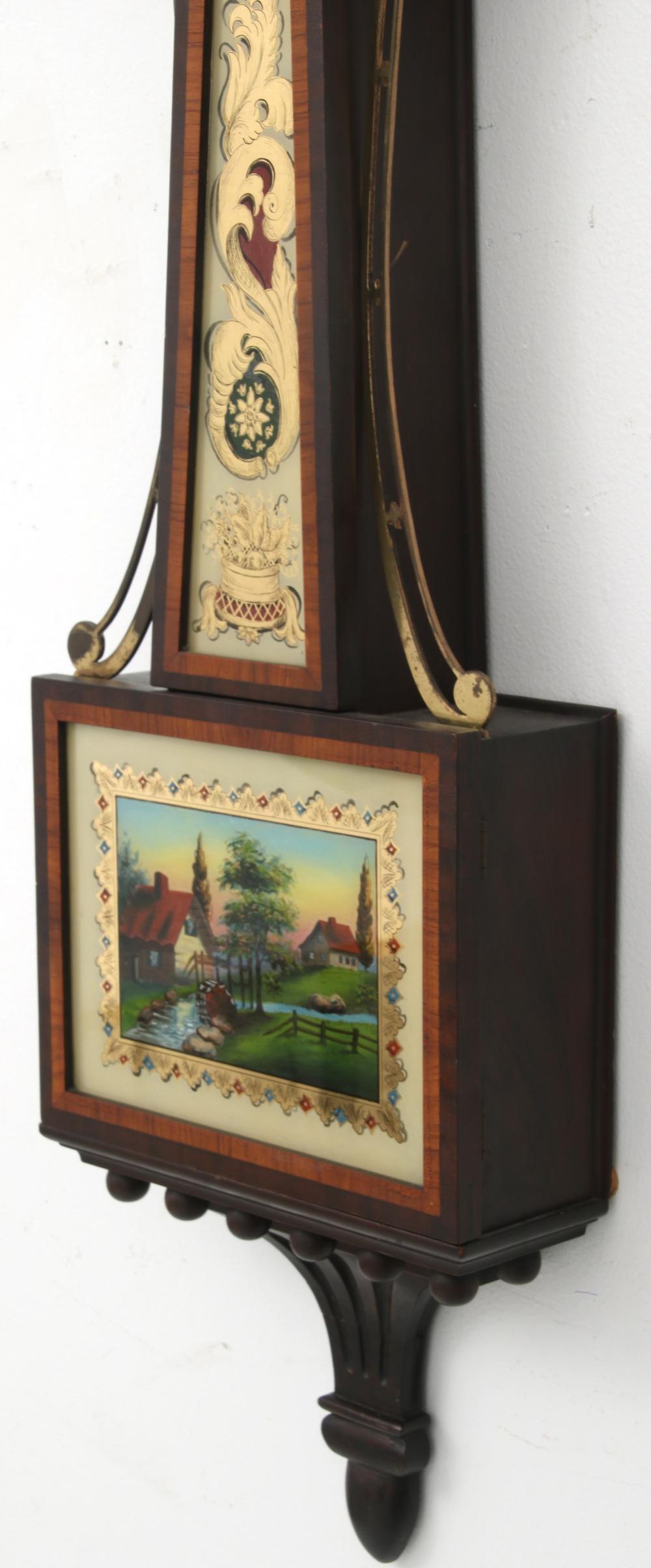 Waltham Presentation Banjo Clock
