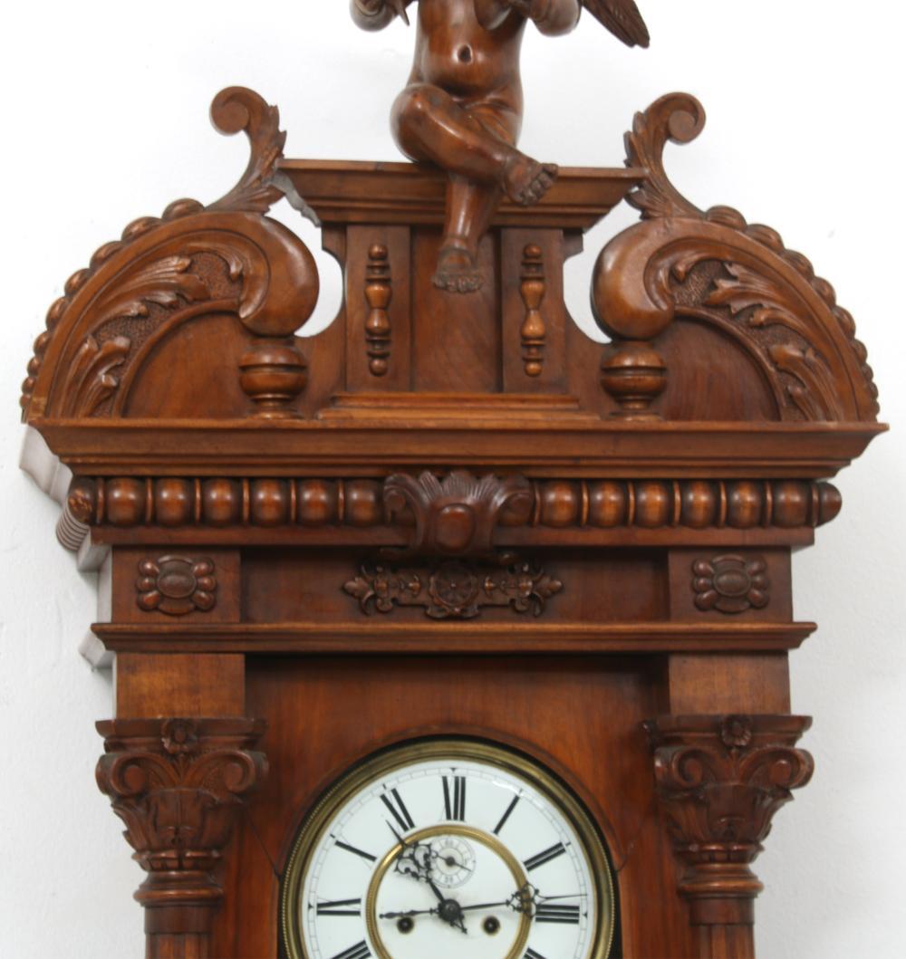 Vienna Regulator Clock