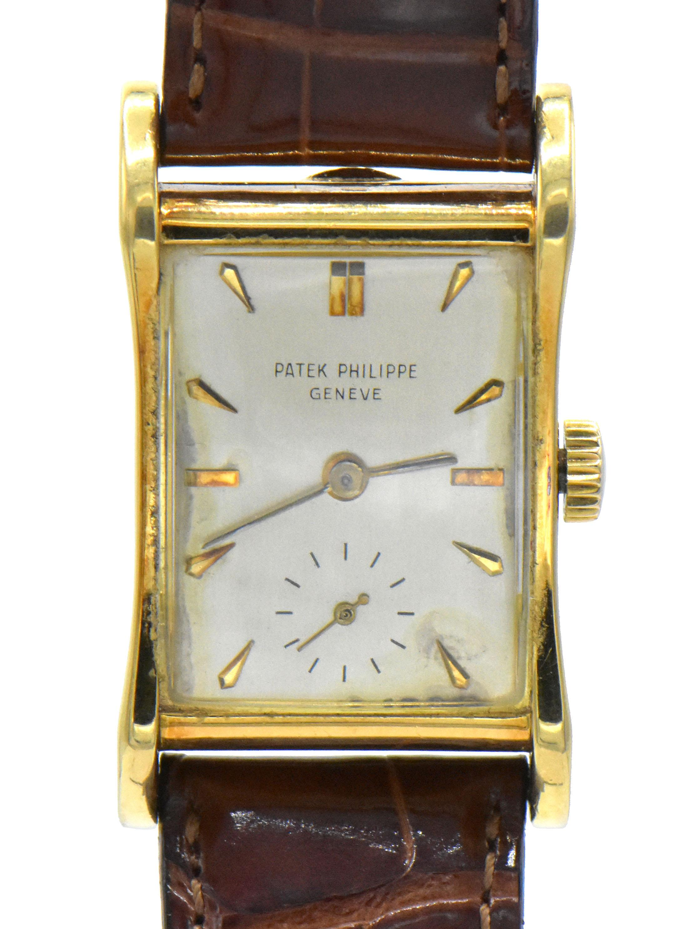 Patek Philippe 18K Gold Wristwatch