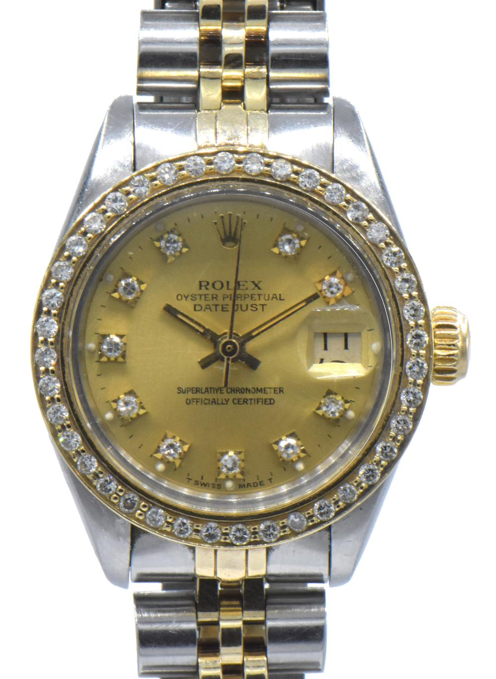 Rolex Oyster Perpetual Datejust Wristwatch