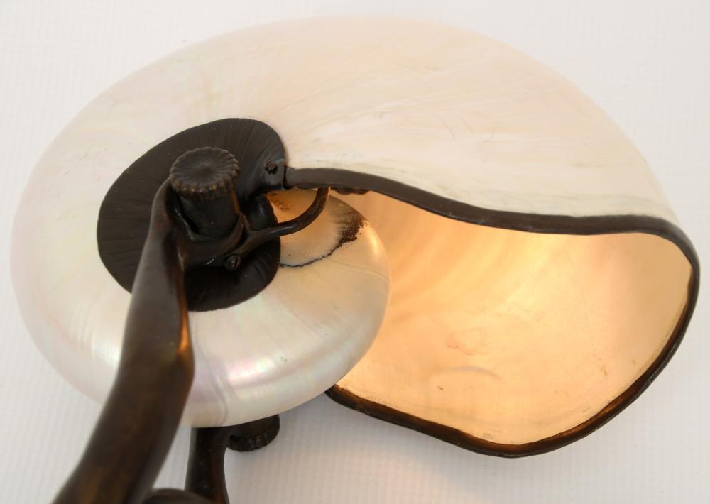 "Tiffany Studios ""Nautilus"" Desk Lamp"