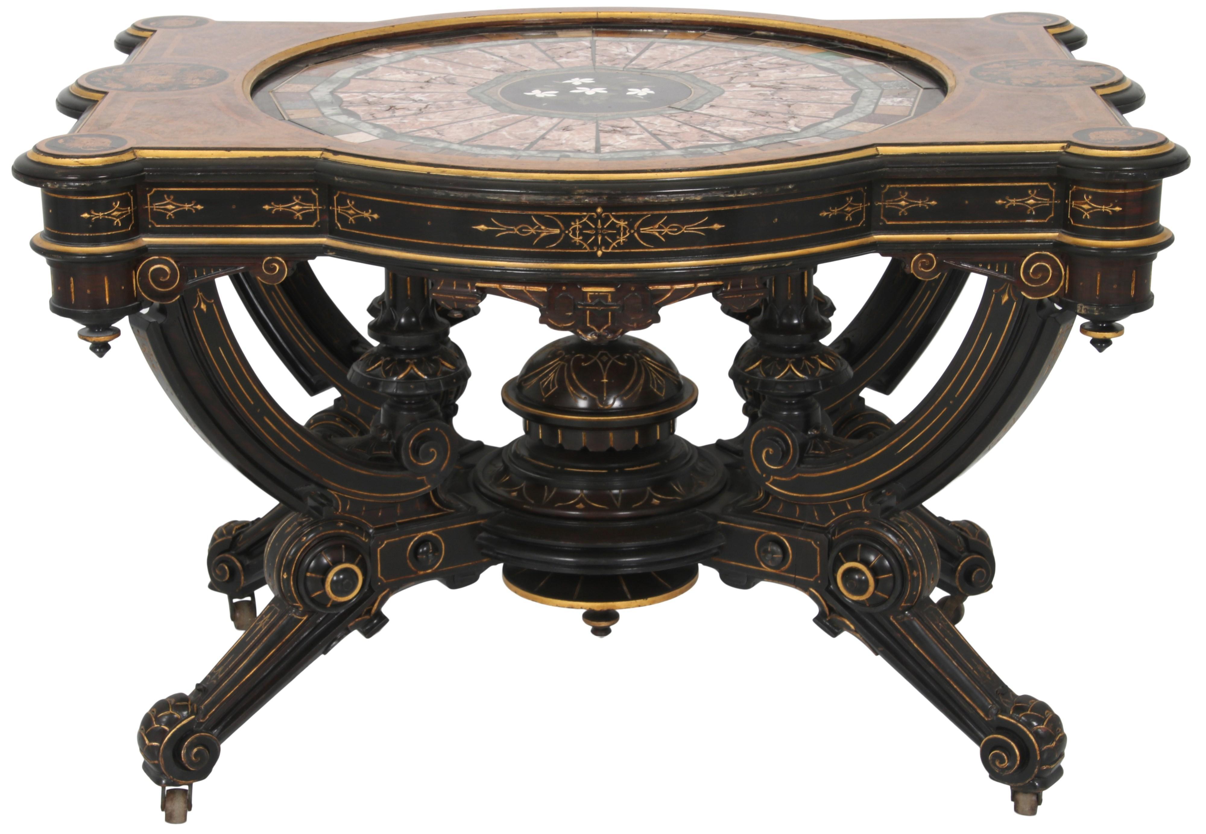 Attr. Pottier & Stymus Center Table