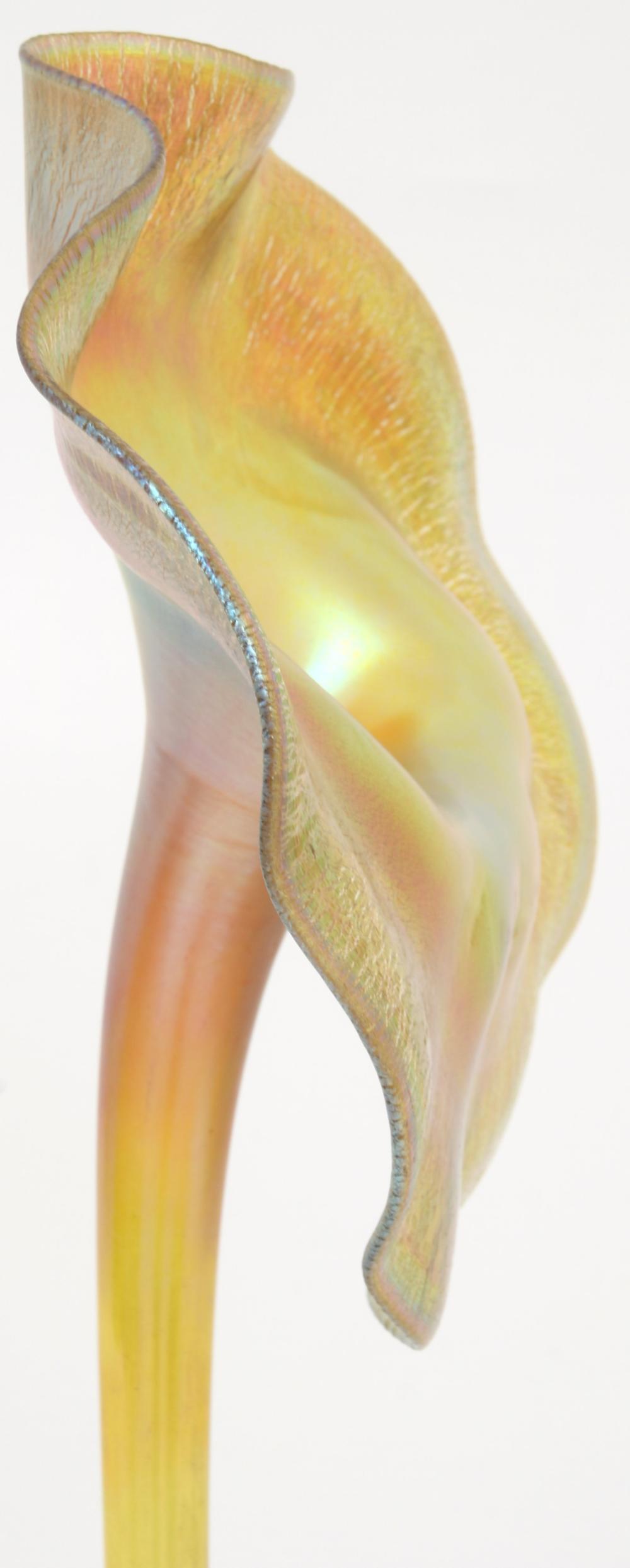 "Tiffany Studios ""Jack-in-the-Pulpit"" Vase"