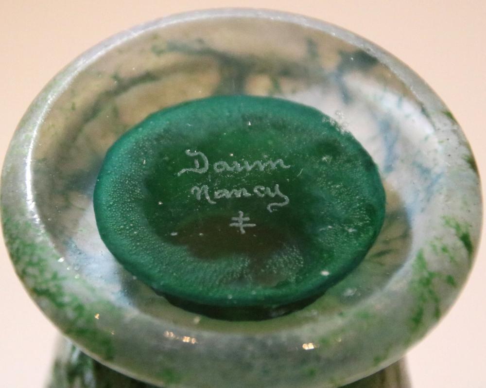 Daum, Nancy, Impressionist Vase
