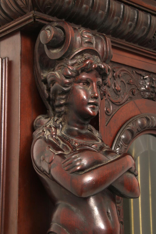 R.J. Horner & Co. Mahogany Grandfather Clock