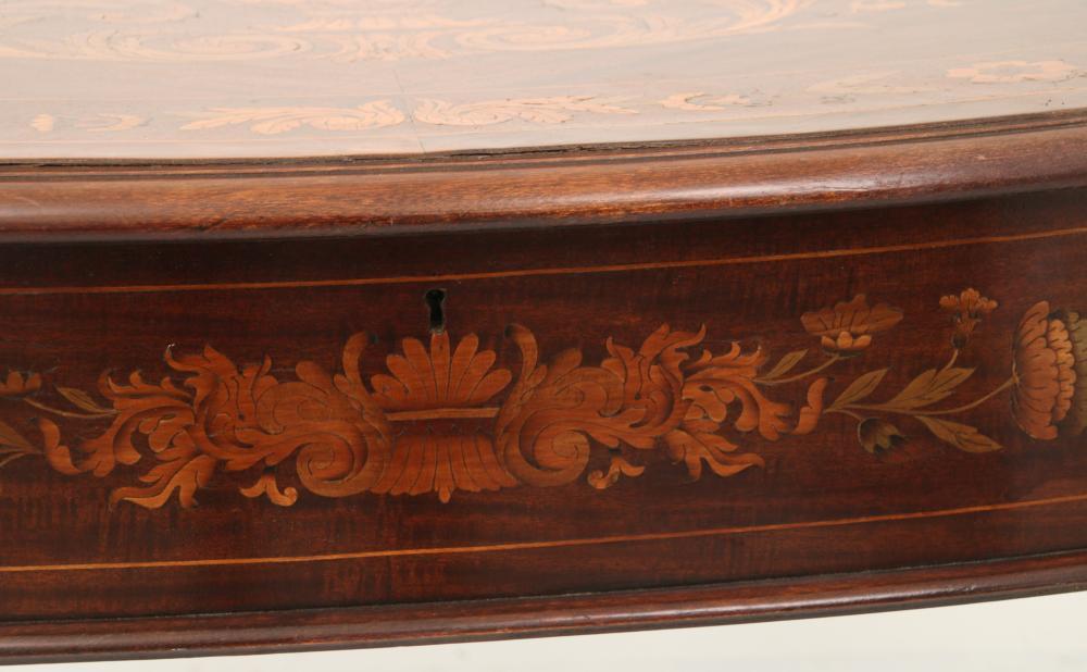 Attr. R.J. Horner & Co. Mahogany Center Table