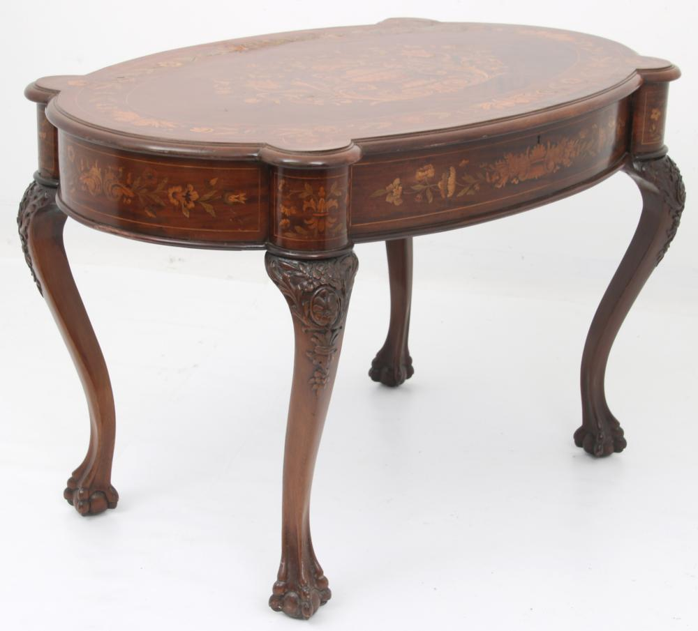 Attr. R.J. Horner & Co. Mahogany Center Table
