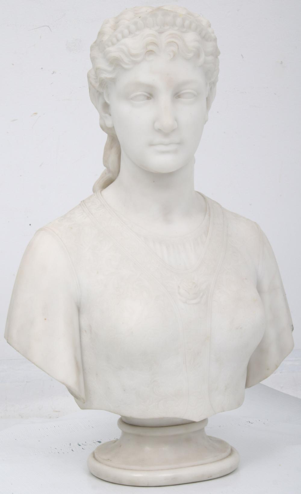 Longworth Powers (Italian/American, 1835-1904)
