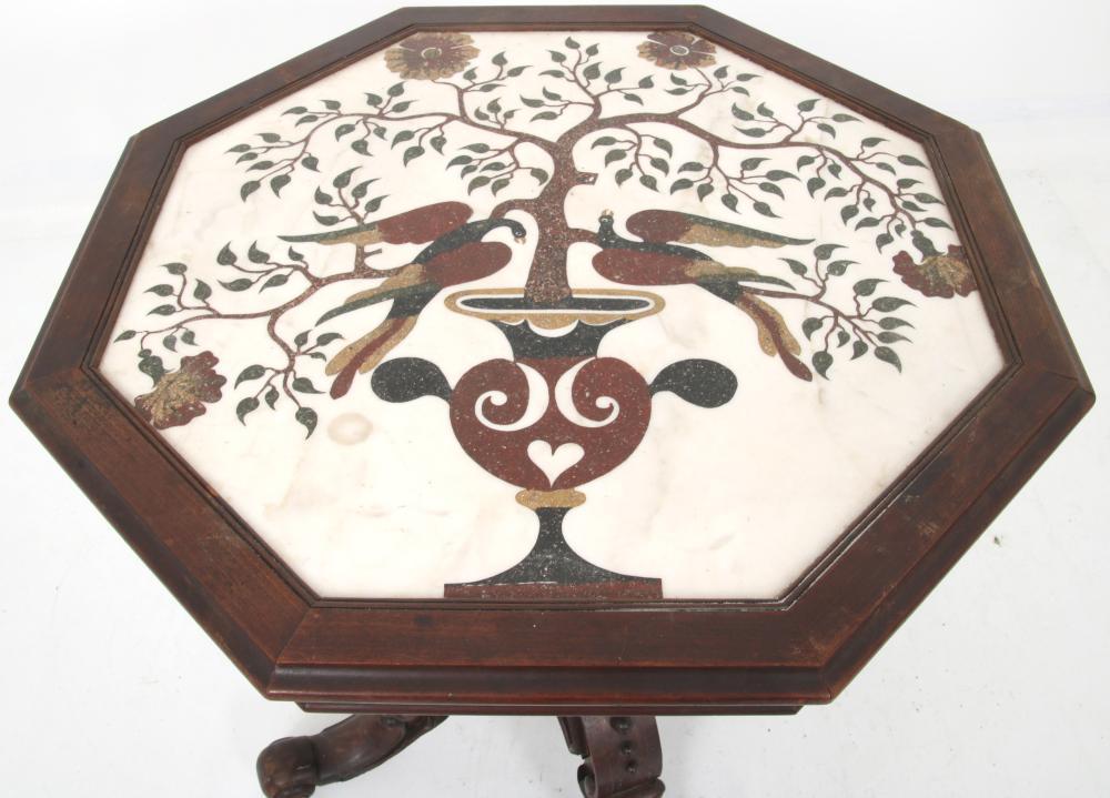 Renaissance Revival Pietra Dura Center Table