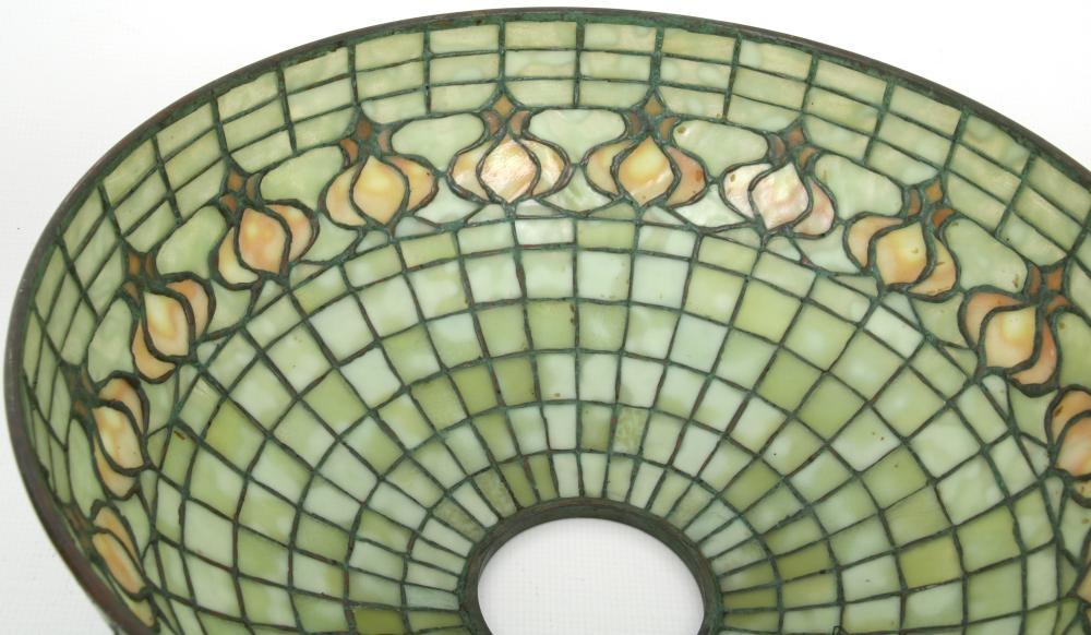"""Tiffany Studios """"Pomegranate"""" Table Lamp"""