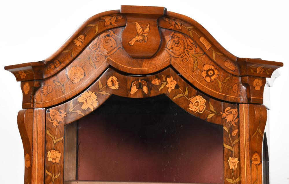 Dutch Marquetry Cabinet-on-Chest