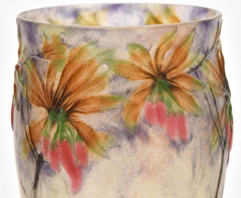 "G. Argy Rousseau ""Flowering Pepper Plant"" Vase"