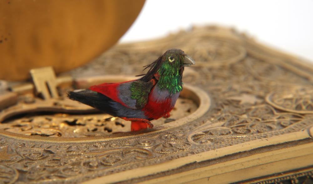 Attr. Karl Griesbaum Singing Bird Box