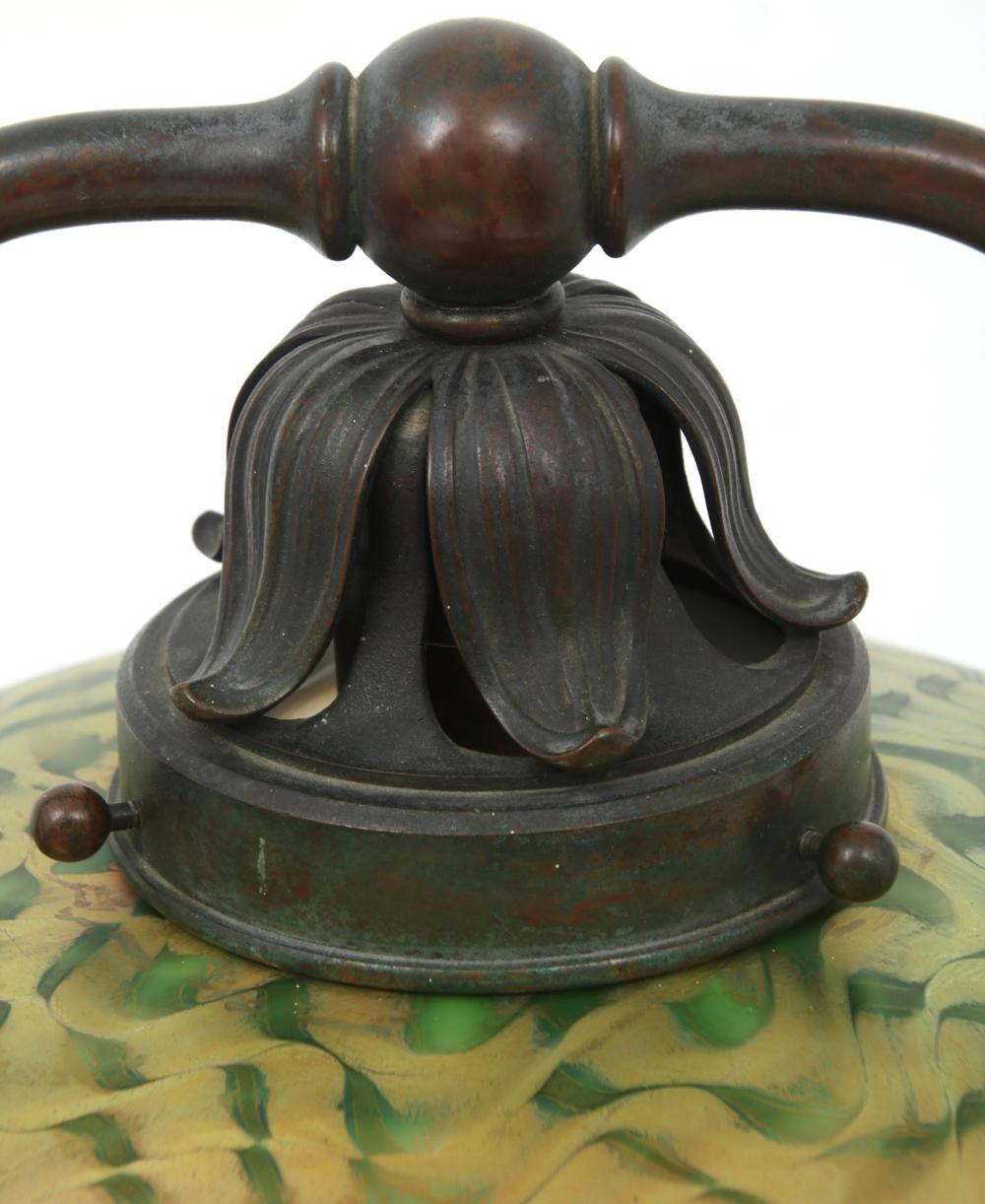 "Tiffany Studios ""Split Harp"" Floor Lamp"