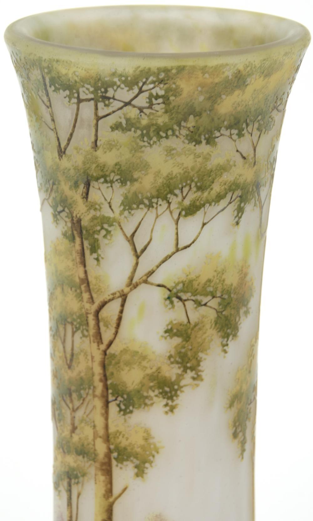 Daum, Nancy, Scenic Vase