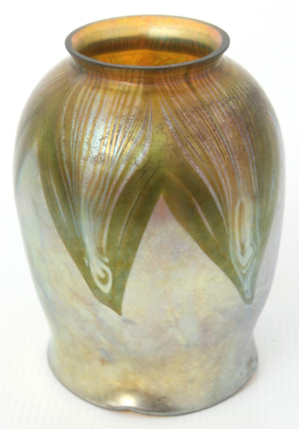 Tiffany Studios Candlestick with Tulip Shade