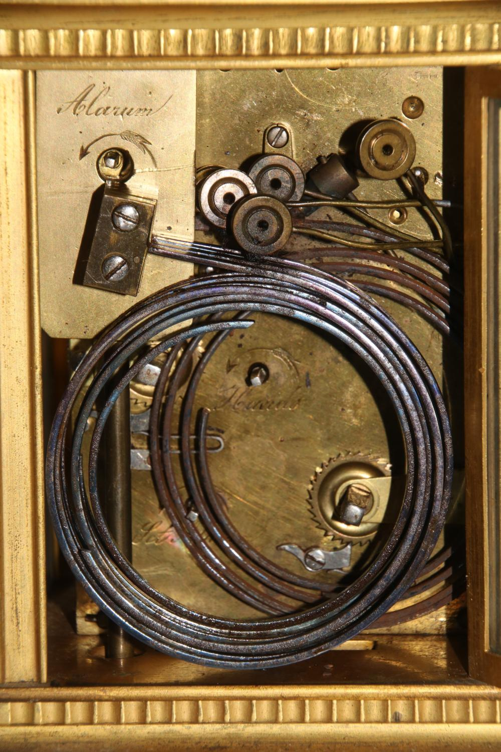 French Westminster Chime Carriage Clock