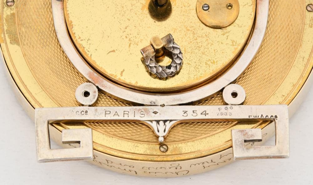 Cartier Art Deco Desk Clock