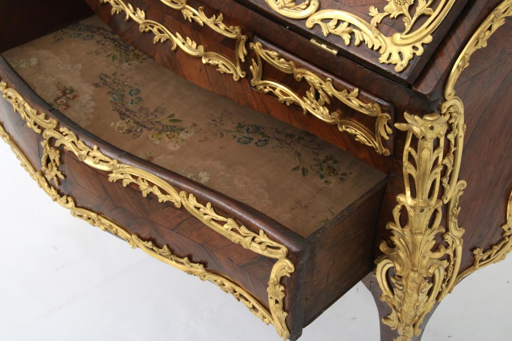 Guillaume Schwingkens Louis XV Bureau en Pente