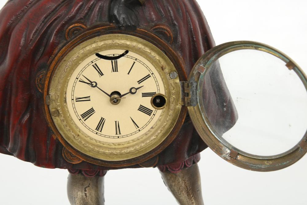 "Bradley & Hubbard ""Topsy"" Blinking Eye Clock"