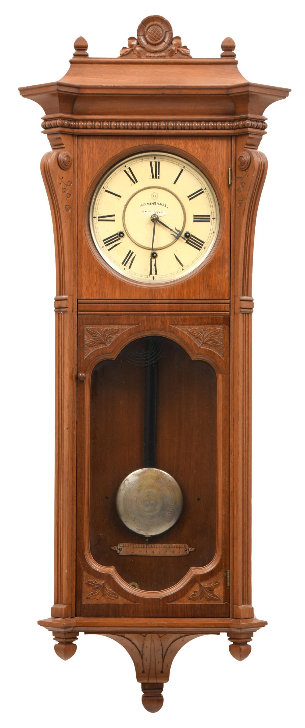 "Seth Thomas ""Marcy"" Wall Regulator Clock"