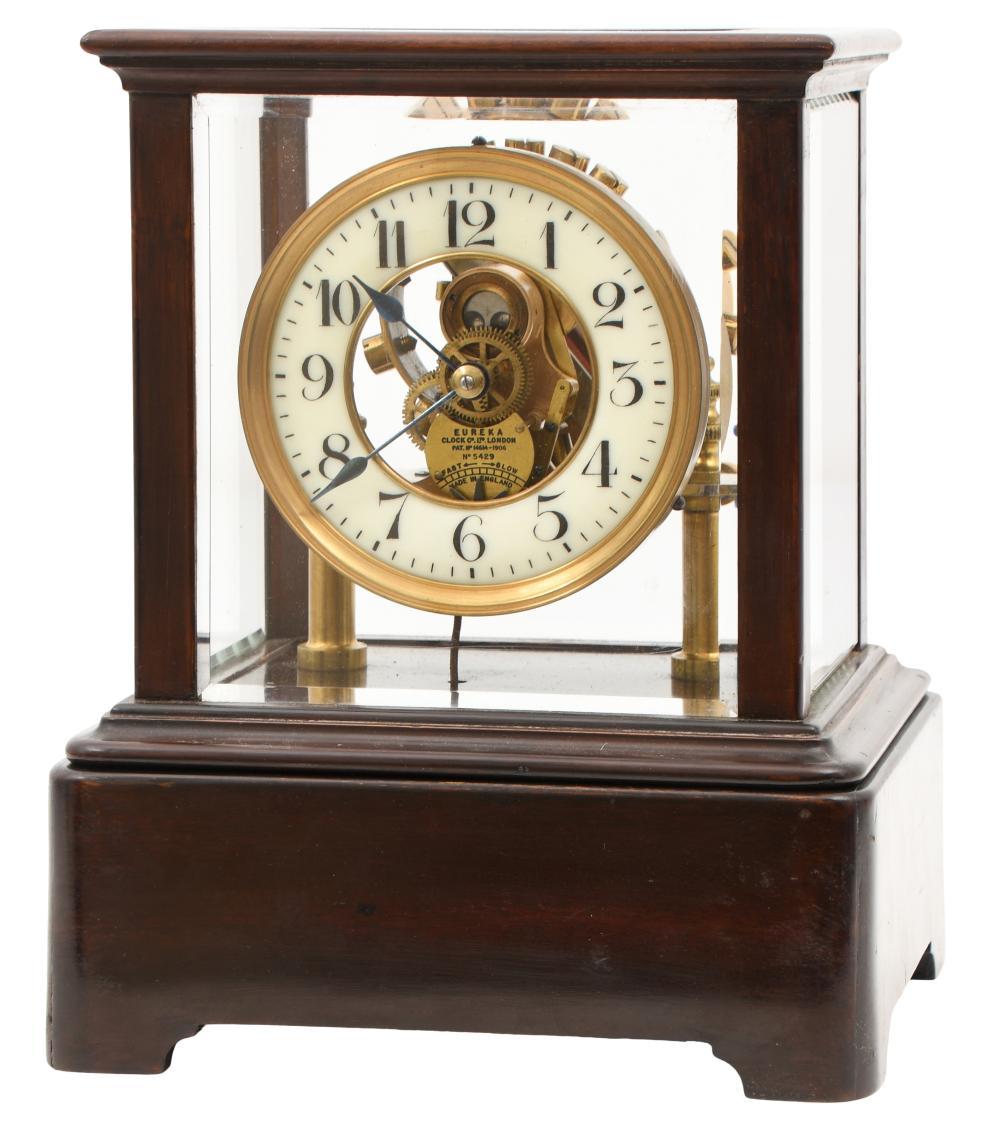 Eureka Clock Co. Electro-Mechanical Balance Wheel Clock