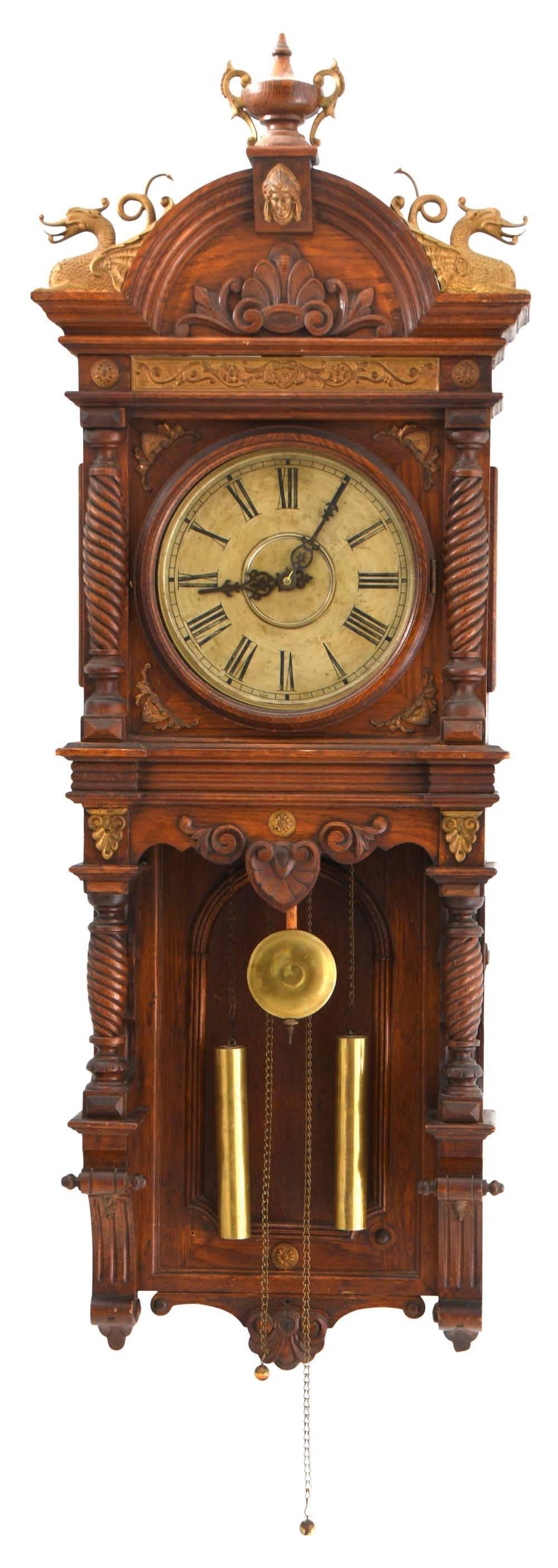 "Waterbury ""Augusta"" Wall Regulator Clock"