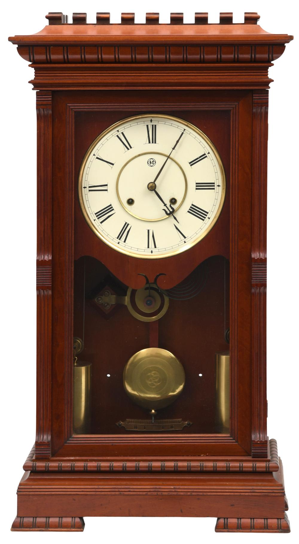 """Seth Thomas """"Garfield"""" Mantel Clock"""