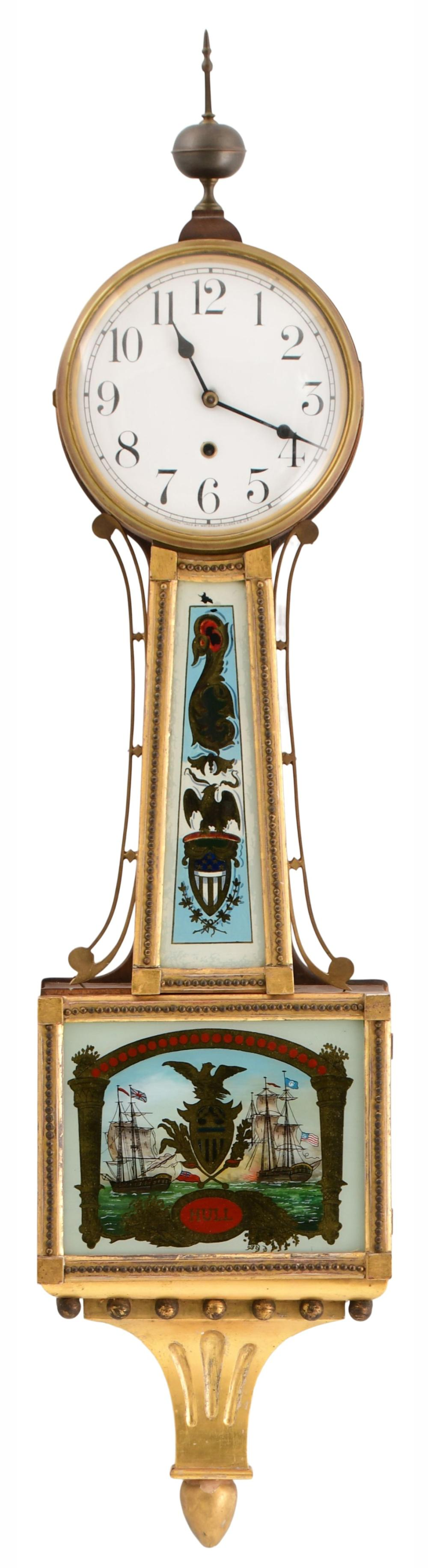 "Waterbury Clock Co. ""Willard No. 3"" Banjo Clock"