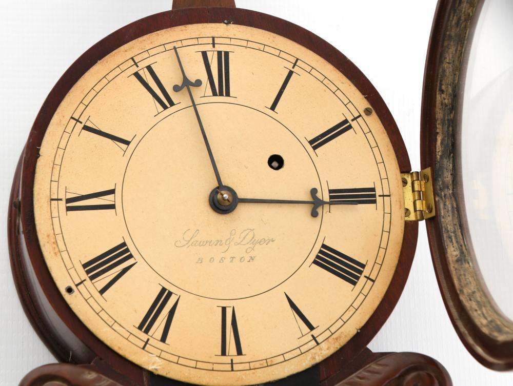 American Lyre Banjo Clock