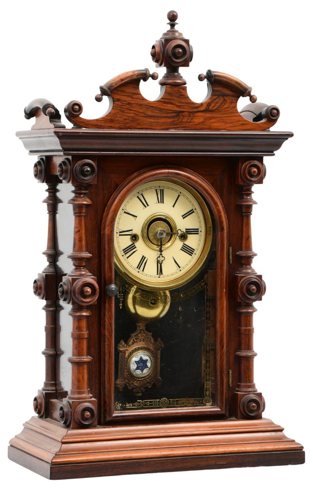 "E.N. Welch ""Cary V.P."" Mantel Clock"
