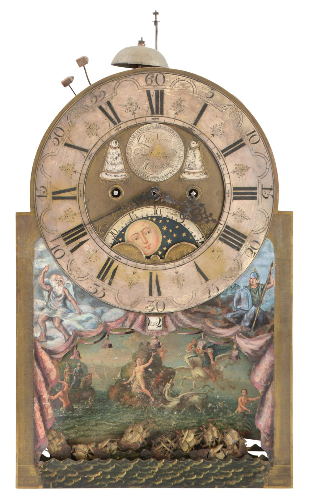 Dutch Rocking Ship Movement for Tall Case Clock