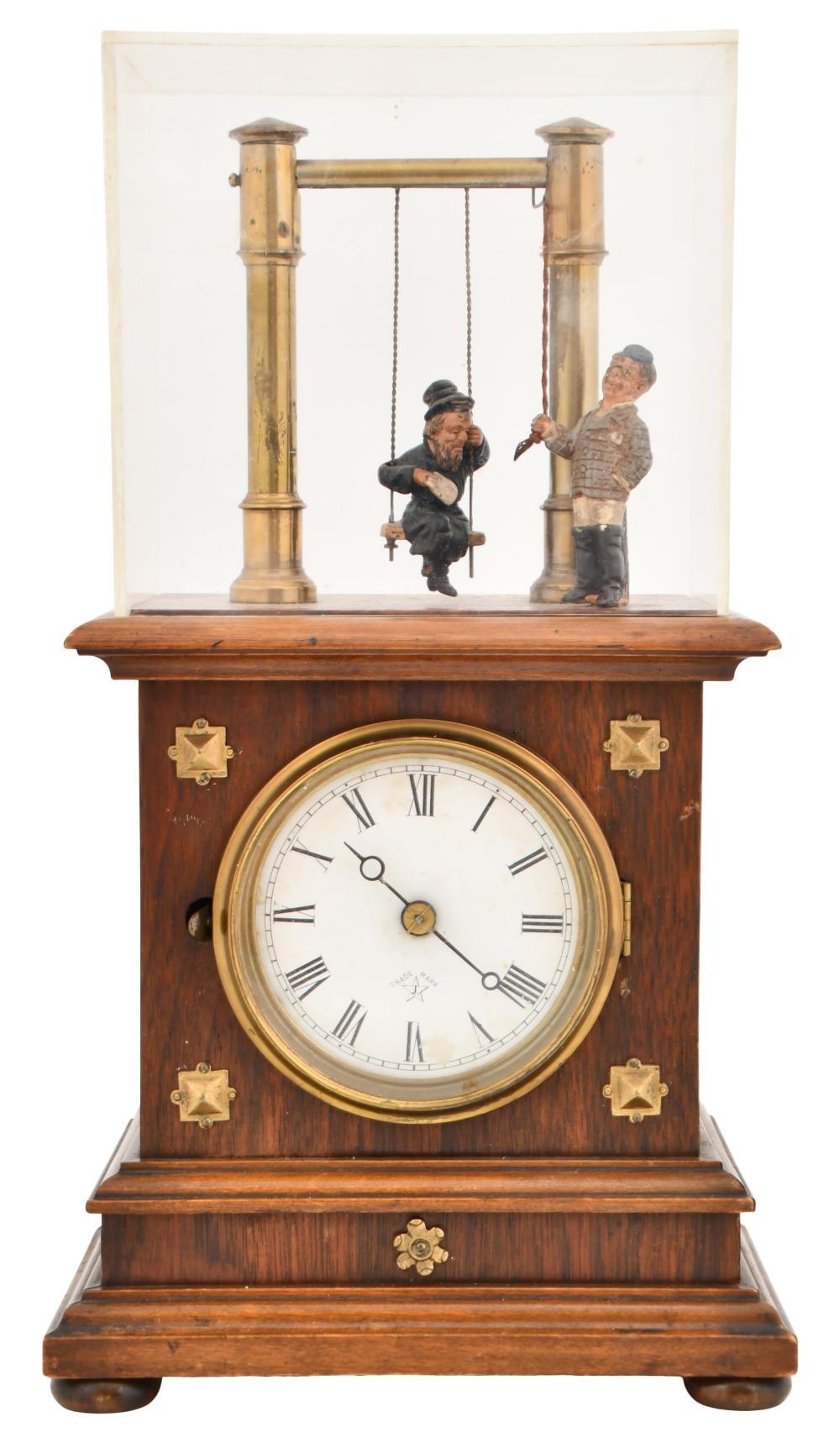 Junghans Swinging Automaton Novelty Clock