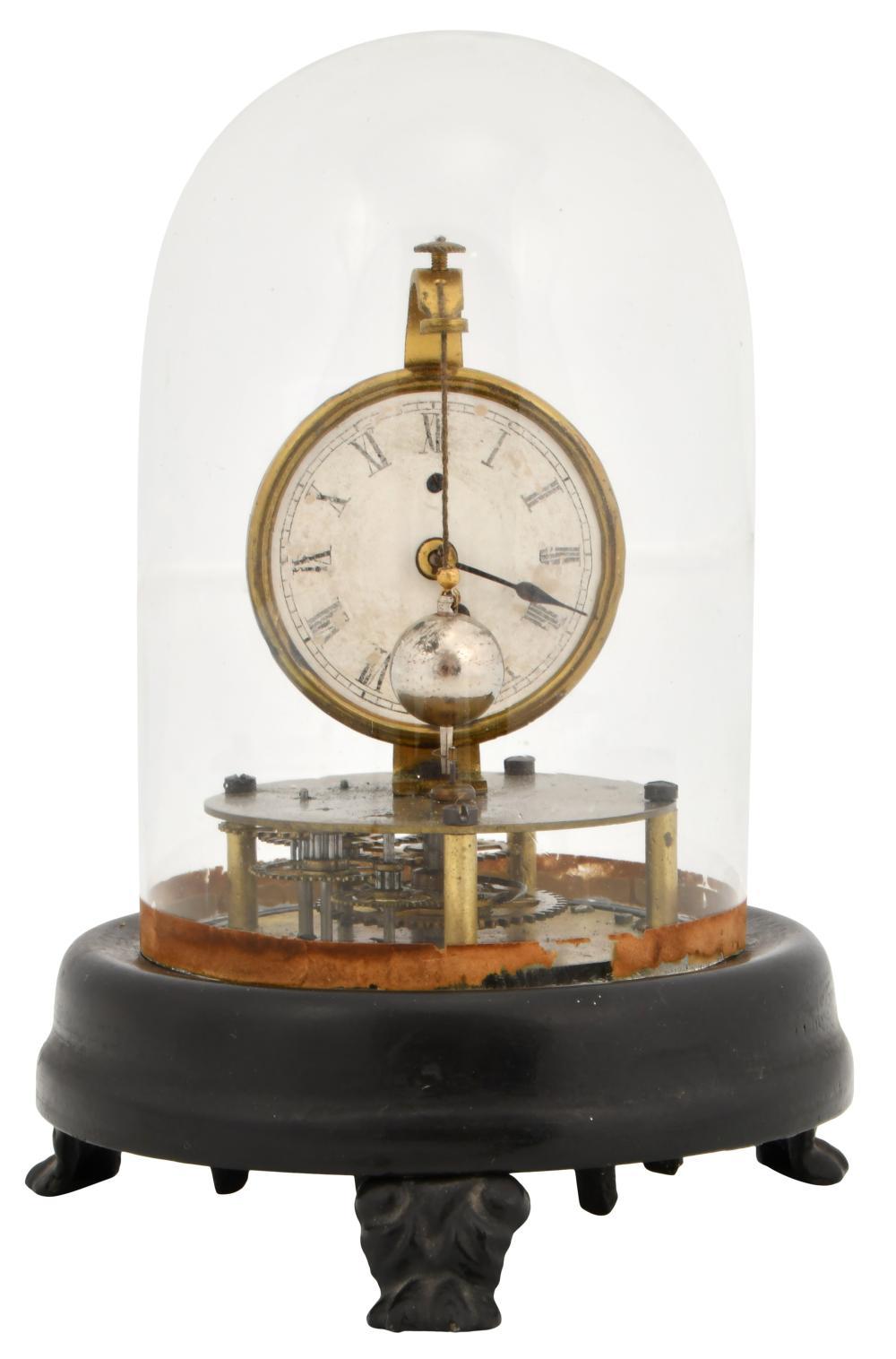 E.N. Welch Briggs Rotary Pendulum Clock
