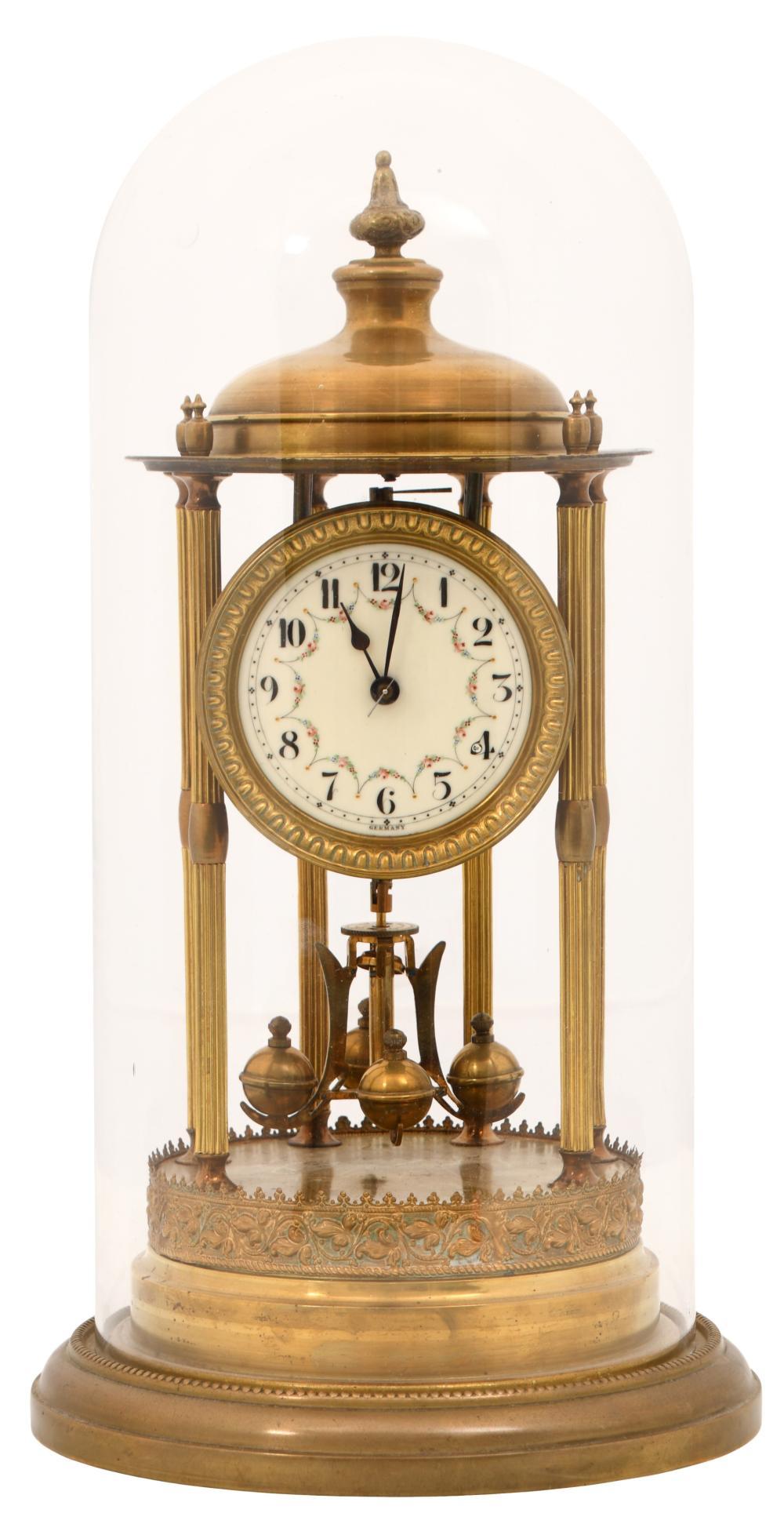 German 400-Day Bandstand Torsion Clock