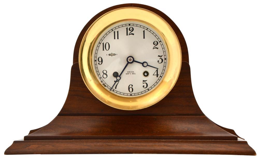 Chelsea Clock Co. Ship's Bell Mantel Clock