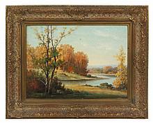 Howard Atkinson Landscape Oil Painting