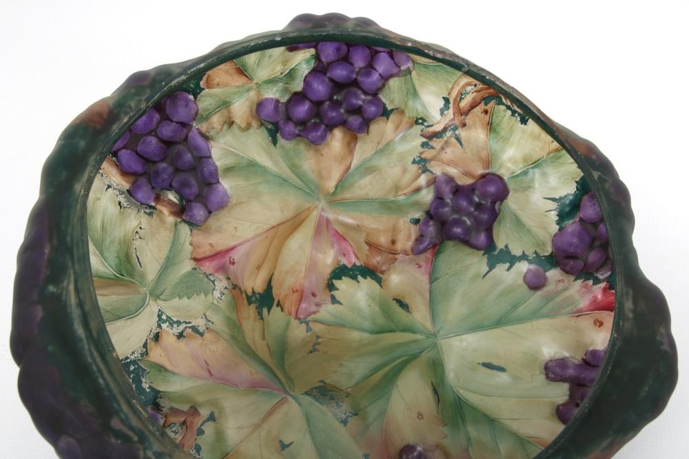 Pairpoint Puffy Grape Table Lamp