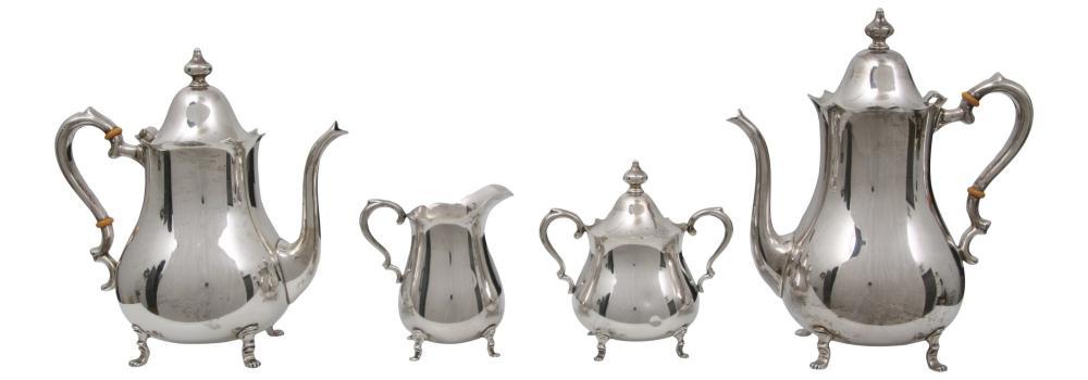 Preisner Sterling Silver Tea Set